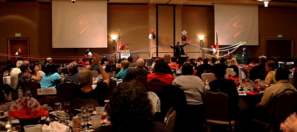 Corporate Banquet Entertainer